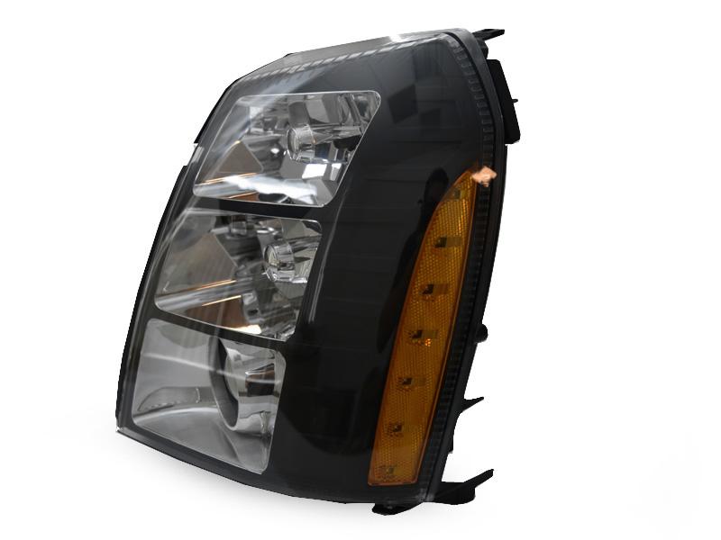 DEPO 07-14 Cadillac Escalade Black Projector HID Headlight