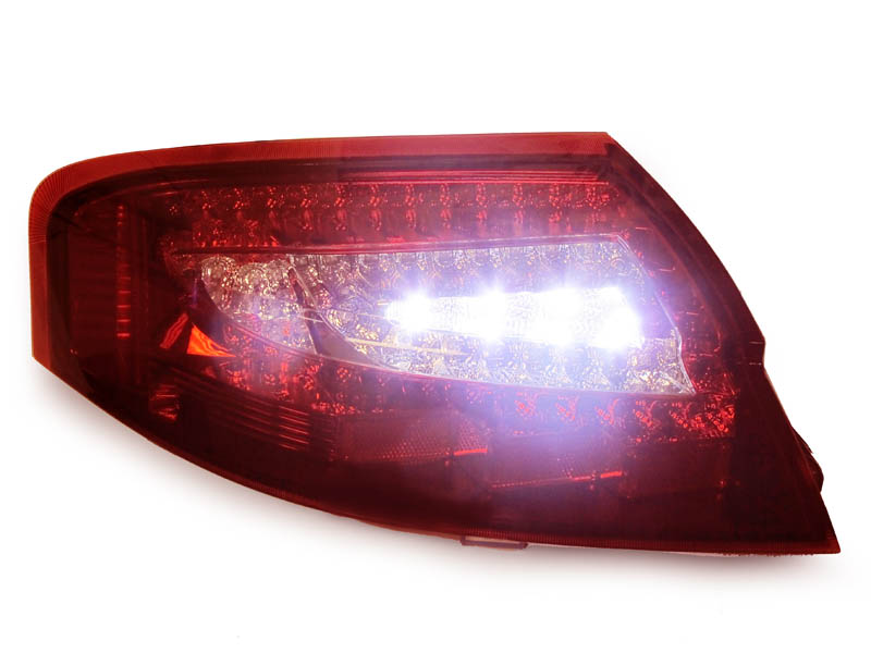 Usa Porsche 996 911 Carrera 4s Turbo Gt2 Gt3 Red Clear Led