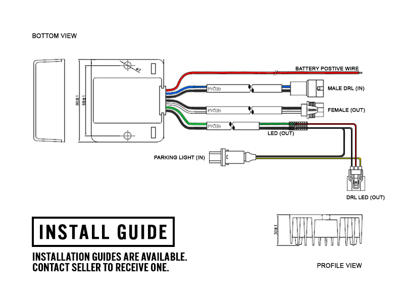 Wiring Drl Module - Machine Repair Manual on