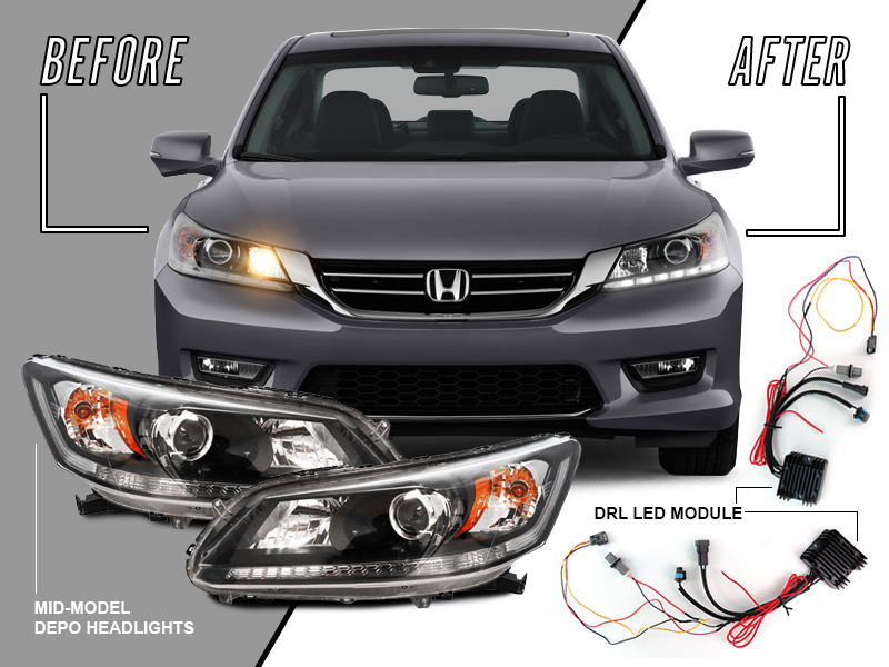 2004 2010 Honda Civic Headlight Wire Harness Auto Parts Accessories Car Truck Parts