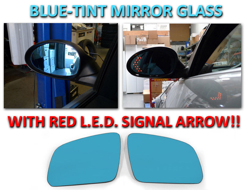 US Made Door Mirror Glass Replacement Driver Side For Mercedes-Benz C230 08-09